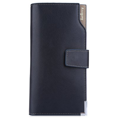 Baellerry Soft Snap Fastener Photo Money Card Clutch WalletMens Wallets<br>Baellerry Soft Snap Fastener Photo Money Card Clutch Wallet<br><br>Wallets Type: Clutch Wallets<br>Gender: For Men<br>Style: Fashion<br>Closure Type: Snap Fastener<br>Pattern Type: Solid<br>Main Material: PU Leather<br>Hardness: Soft<br>Interior: Interior Slot Pocket<br>Embellishment: Letter<br>Height: 19.1 cm / 7.52 inch<br>Width: 2 cm / 0.79 inch<br>Length(CM): 10 cm / 3.94 inch<br>Product weight: 0.168 kg<br>Package weight: 0.295 kg<br>Package size (L x W x H): 20.50 x 11.00 x 4.00 cm / 8.07 x 4.33 x 1.57 inches<br>Package Contents: 1 x Wallet, 1 Wallet Box