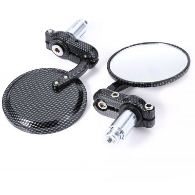 Paired Universal Motorcycle Round Rear Mirror