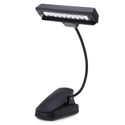 10 LEDs Clip-on Orchestra Stand Lamp