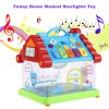KUNSHENG Funny Musical House Piano Child Toy