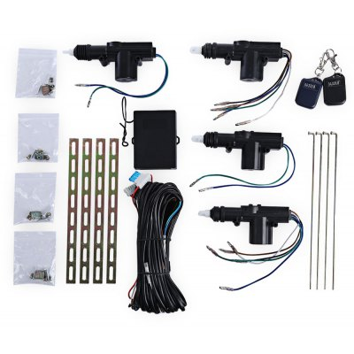 12V Four Actuator Motor Car Door Central Lock  with Remote Control