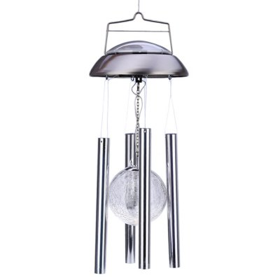 LED Solar Powered Color Changing Wind Chime Light