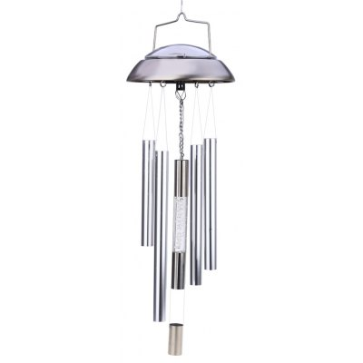 LED Solar Wind Chime Colorful Outdoor Light