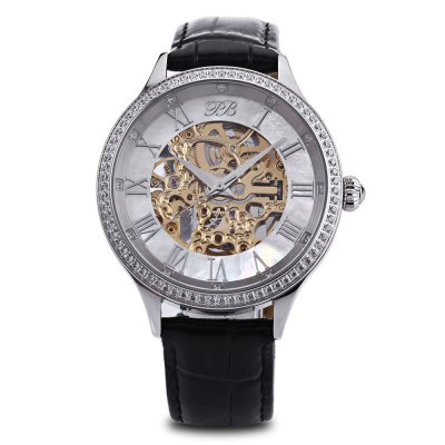 Princess Butterfly HL587MB Male Automatic Mechanical WatchMens Watches<br>Princess Butterfly HL587MB Male Automatic Mechanical Watch<br><br>Band Length: 8.27 inch<br>Band Material Type: Genuine Leather<br>Band Width: 16mm<br>Case material: Stainless Steel<br>Case Shape: Round<br>Clasp type: Butterfly Clasp<br>Dial Diameter: 1.57 inch<br>Dial Display: Analog<br>Dial Window Material Type: Sapphire Crystal<br>Gender: Men<br>Movement: Automatic Self-Wind<br>Style: Business<br>Water Resistance Depth: 30m<br>Product weight: 0.076 kg<br>Package weight: 0.285 kg<br>Product Size(L x W x H): 25.00 x 4.50 x 1.00 cm / 9.84 x 1.77 x 0.39 inches<br>Package Size(L x W x H): 11.00 x 10.50 x 7.50 cm / 4.33 x 4.13 x 2.95 inches<br>Package Contents: 1 x Princess Butterfly HL587MB Men Automatic Mechanical Watch