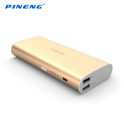 PINENG PN - 998 10000mAh Chargeable Backup Power Supply Case