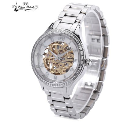 Princess Butterfly HL587LB Women Automatic Mechanical Watch