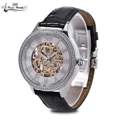 Princess Butterfly HL587MB Male Automatic Mechanical Watch
