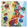 cheap Kids Magnetic Wooden Puzzles Ladybug Bug Beetles Catching Game