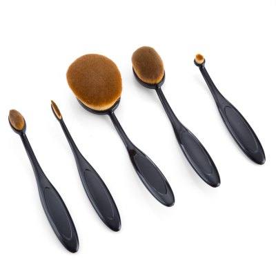 5pcs Professional Multi-size Cosmetic Makeup Brushes SetsMakeup Brushes &amp; Tools<br>5pcs Professional Multi-size Cosmetic Makeup Brushes Sets<br><br>Handle Material: Plastic<br>Brush Material: Nylon<br>Used With: Blusher,Concealer,Eye Shadow,Foundation,Lip,Powder,Sets / Kits<br>Product weight: 0.100 kg<br>Package weight: 0.163 kg<br>Product size (L x W x H): 17.00 x 3.00 x 4.50 cm / 6.69 x 1.18 x 1.77 inches<br>Package size (L x W x H): 17.50 x 6.00 x 5.00 cm / 6.89 x 2.36 x 1.97 inches<br>Package Content: 5 x Makeup Brushes