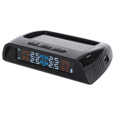 Car Wireless Tire Pressure Solar Energy Monitoring System