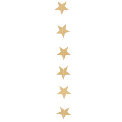 Pearl Paper Star Shaped Hanging Ornaments