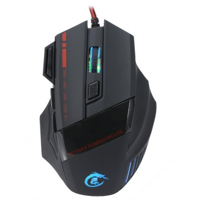 A907 Wired Optical Self-defining Gaming Mouse