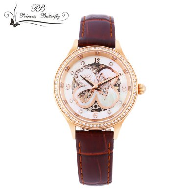 Princess Butterfly HL598 Female Automatic Mechanical Watch