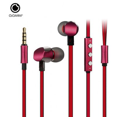 GGMM EJ301 Cuckoo In-ear Dynamic Stereo Earphones