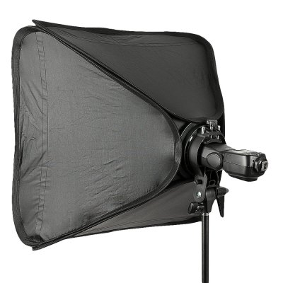 Godox SFUV6060 60 x 60cm Softbox with Speedlite BracketPhotography Accessories<br>Godox SFUV6060 60 x 60cm Softbox with Speedlite Bracket<br><br>Product weight: 0.994 kg<br>Package weight: 1.270 kg<br>Package Size(L x W x H): 41.00 x 27.00 x 9.00 cm / 16.14 x 10.63 x 3.54 inches<br>Package Contents: 1 x Godox Softbox, 1 x Godox S-type Mount Speedlite Bracket, 1 x Carrying Bag
