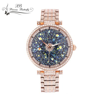 Princess Butterfly HL639 Female Quartz Watch