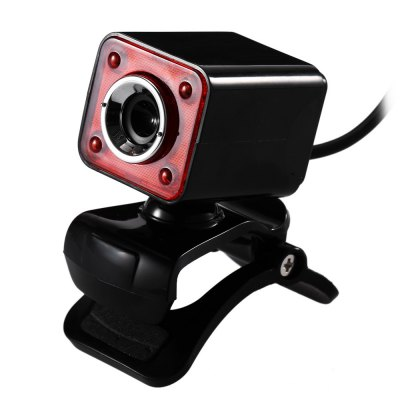 A862 USB 2.0 1.3 Megapixel HD LED Camera Webcam