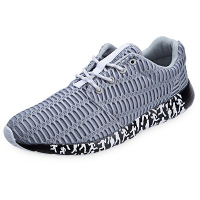 Ultra Light Lace Up Mesh Breathable Men Sports Shoes