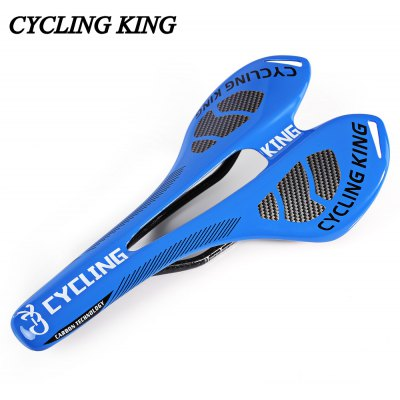 Cycling King MTB Bicycle Durable 3K Full Carbon Seat Saddle