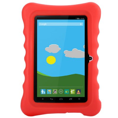 GBtiger L701 Kids Tablet PCFeatured Tablets<br>GBtiger L701 Kids Tablet PC<br><br>Cell Capacity: 2200mAh<br>Display resolution: 1024x600<br>Extend Port: DC Jack,Earphone Jack,Micro USB,TF card<br>Feature: Dual Cameras,Ultra Slim<br>Google Play: Yes<br>Memory Capacity: 512MB<br>Network Communiction: Bluetooth,WiFi<br>Operating system: Android 4.4<br>Processor Main Frequency: Quad Core<br>Processor Manufacture: Allwinner<br>Processor Model: A33<br>Tablet Data Capacity: 8GB<br>Touch Screen Type: Capacitive Screen<br>Product weight: 0.276 kg<br>Package weight: 0.931 kg<br>Product Size(L x W x H): 18.40 x 12.20 x 0.90 cm / 7.24 x 4.8 x 0.35 inches<br>Package Size(L x W x H): 27.00 x 19.50 x 3.50 cm / 10.63 x 7.68 x 1.38 inches<br>Package Contents: 1 x Tablet PC, 1 x USB Cable, 1 x Power Adapter, 1 x Protection Cover