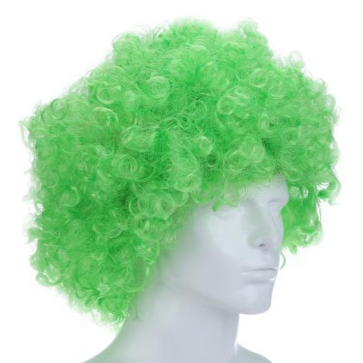 Curly Afro Wigs Multi-color Party Clown Funky Disco