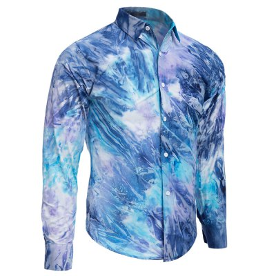 Men Tie-dye Pocket Design Slim Long Sleeve ShirtMens Shirts<br>Men Tie-dye Pocket Design Slim Long Sleeve Shirt<br><br>Collar: Turn-down Collar<br>Fabric Type: Broadcloth<br>Material: Cotton Blends, Polyester<br>Package Contents: 1 x Shirt<br>Shirts Type: Casual Shirts<br>Sleeve Length: Full<br>Weight: 0.211kg