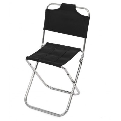Folding Chair Seat Water Resistant Stool with Back