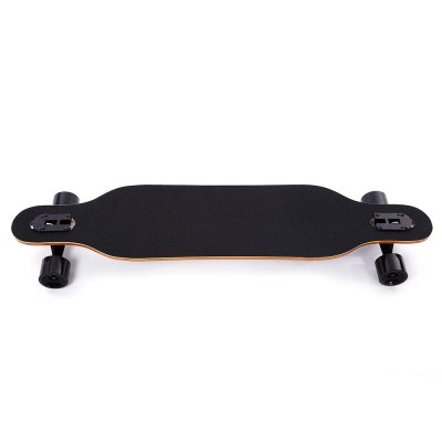 PUENTE Four-wheel Scooter Roller Long BoardSkateboard<br>PUENTE Four-wheel Scooter Roller Long Board<br><br>Package Contents: 1 x Skateboard<br>Package Size(L x W x H): 105.00 x 27.00 x 13.00 cm / 41.34 x 10.63 x 5.12 inches<br>Package weight: 4.550 kg<br>Product Size(L x W x H): 104.00 x 26.00 x 10.00 cm / 40.94 x 10.24 x 3.94 inches<br>Product weight: 3.600 kg