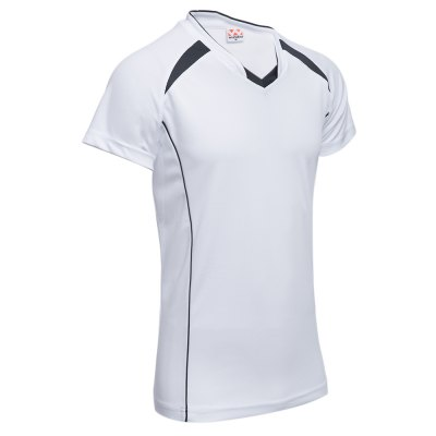 Male Patchwork V Neck Short Sleeve Breathable Sports ShirtMens Short Sleeve Tees<br>Male Patchwork V Neck Short Sleeve Breathable Sports Shirt<br><br>Collar: V-Neck<br>Fabric Type: Broadcloth<br>Material: Cotton Blends<br>Package Contents: 1 x Shirt<br>Pattern Type: Patchwork<br>Sleeve Length: Short<br>Style: Casual<br>Weight: 0.150kg