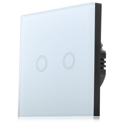 Smart Touch Switch 2 Gang 1-way Controller