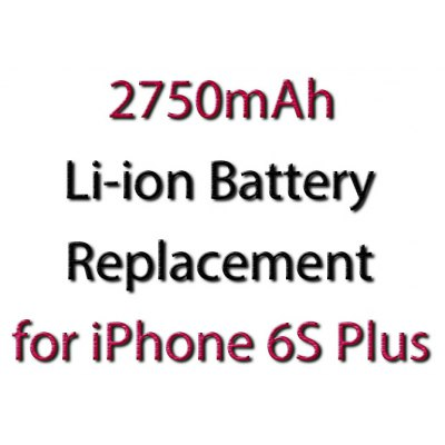 2750mAh Rechargeable Battery for iPhone 6S Plus