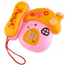Novelty Musical Mushroom Telephone Kids Intelligent Toy