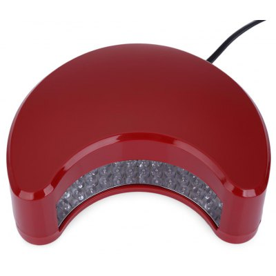 9W Powerful Moon Shape UV LED Nail Curing Lamp