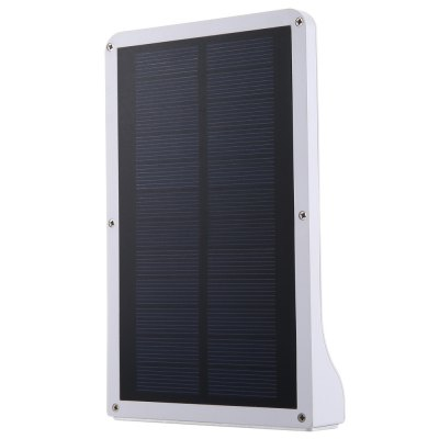 Solar Motion LightOutdoor Lights<br>Solar Motion Light<br><br>Body Material: Aluminum<br>Emitting color: White<br>Is Bulbs Included: Yes<br>Is Dimmable: Yes<br>Light Source: LED Bulbs<br>Package Contents: 1 x Solar Motion Light, 1 x Pack of Accessories, 1 x Bilingual User Manual in English and Chinese<br>Package Size(L x W x H): 19.00 x 12.00 x 3.50 cm / 7.48 x 4.72 x 1.38 inches<br>Package weight: 0.321 kg<br>Product Size(L x W x H): 18.00 x 10.90 x 3.00 cm / 7.09 x 4.29 x 1.18 inches<br>Product weight: 0.259 kg<br>Protection Level: IP65<br>Style: Modern