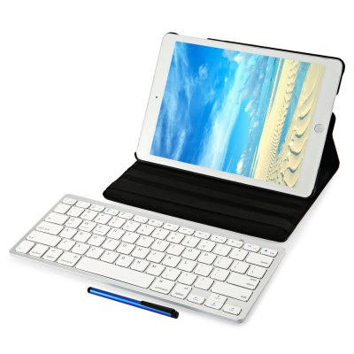 Wireless Bluetooth Keyboard Detachable Cover for iPad Air 2