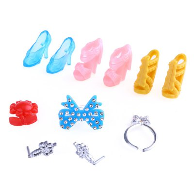 Baby Doll Accessories Toy Set