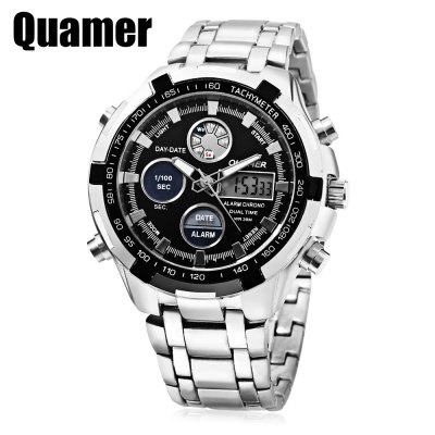 Quamer SD - 165 Double Movt Men Watch