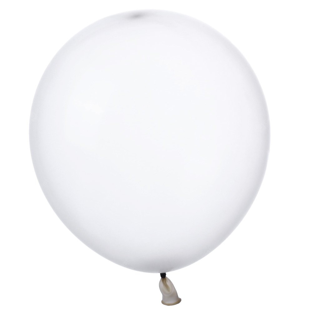 100pcs 10 Inch Transparent Latex Party Balloons