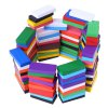 100pcs Kids Bright Colored Wooden Tumbling Domino Toy deal