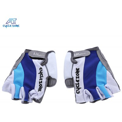 Cycle Zone Paired Breathable Half Finger Bike Cycling Gloves