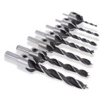 7pcs 3 - 10mm 5 Flute Countersink Drill Bit