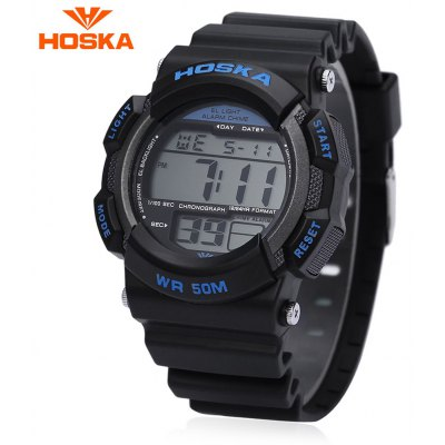 HOSKA H007B Children LED Digital Sport Watch