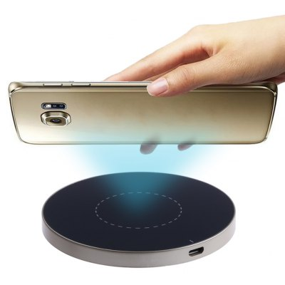 G3 Qi Wireless Charging Pad Circular Aluminum Alloy Charger