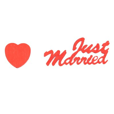 Just Married Wedding Confetti