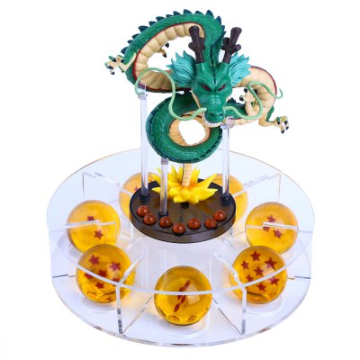 4.3CM Silicone Crystal Dragon Ball Action Figures with ShelfOutdoor Fun &amp; Sports<br>4.3CM Silicone Crystal Dragon Ball Action Figures with Shelf<br><br>Age Range: &gt; 3 years old<br>Gender: Unisex<br>Shape: Round<br>Product weight: 1.120 kg<br>Package weight: 1.146 kg<br>Product Size(L x W x H): 20.50 x 20.00 x 20.00 cm / 8.07 x 7.87 x 7.87 inches<br>Package Size(L x W x H): 38.00 x 21.00 x 13.00 cm / 14.96 x 8.27 x 5.12 inches<br>Package Contents: 1 x Dragon Ball Set