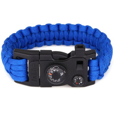 Inlife Multifunction Shackle Paracord Bracelet