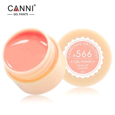 CANNI Professional Paint Supply LED UV Color Gel Soaks