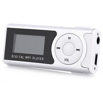 1.1 Inch Screen Portable MP3 Player with Micro Slot
