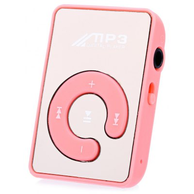 Mirror Surface Portable 4 Hours MP3 Player with Micro Slot