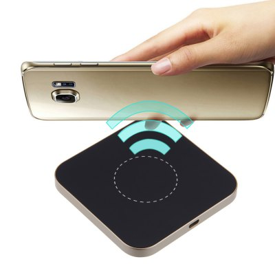 G2 Qi Wireless Charging Pad Square Aluminum Alloy Charger